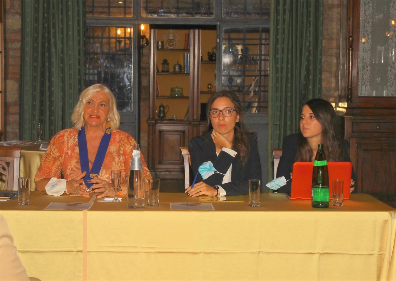 Sara Iannone, Presidente del Club Rotary Roma Aniene, apre la stagione autunnale 2020.