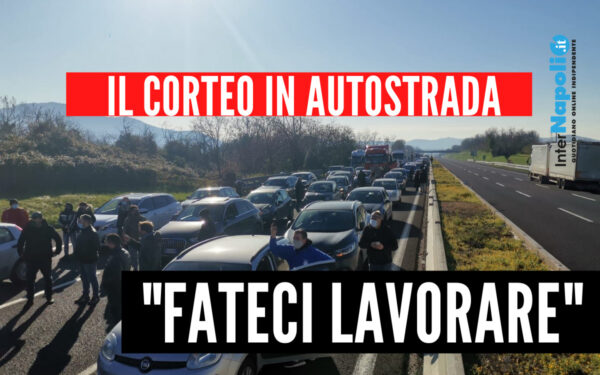 """Da Napoli a Roma, la marcia dei ristoratori contro il Governo: """"Fateci lavorare"""""""