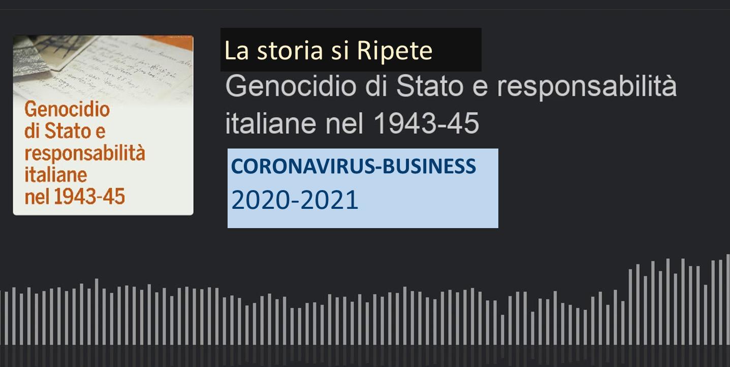 Covid19: Genocidio di Stato
