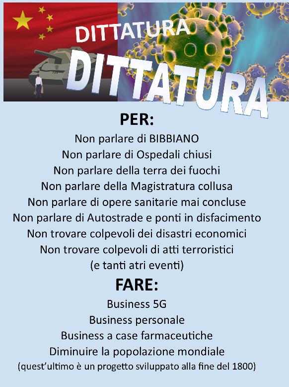 Dittatura e Coronavirus-Business
