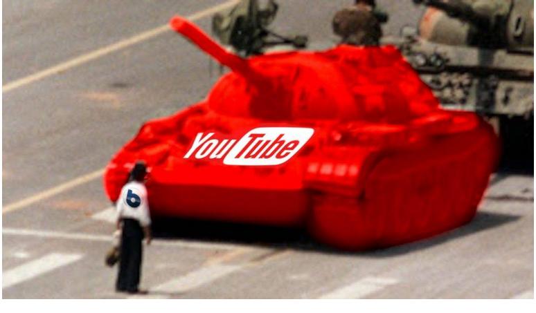 Dittatura di Youtube, peggio dei comunisti