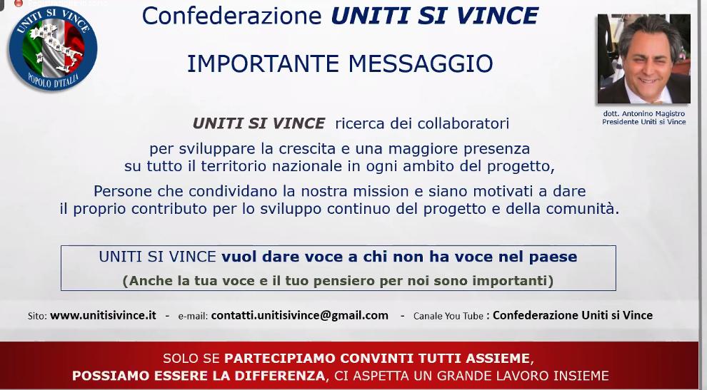 ITALIA NUOVA con Uniti Si Vince